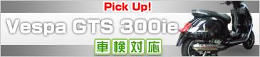 vespa GTS 300ie専用マフラー